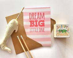 Dream Big - Pink - by Snappy Crocodile