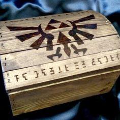 Legend of Zelda Storage Chest Shut Up And Take My Yen : Anime & Gaming Merchandise