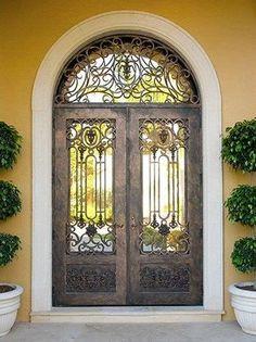 Lerida-106 - Wrought Iron Doors, Windows, Gates, & Railings from Cantera Doors