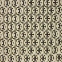 "Katana - Ivory/Ebony - Indoor Multipurpose Fabric Lee Jofa - Kelly Wearstler, Groundworks - 6940 - Kelly Wearstler Collection, 6941 - Kelly Wearstler Collection ""B"" (GWF-2812-168)"