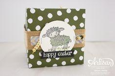 Easter Lamb Treat Box 3 ~ Susan Wong - SU