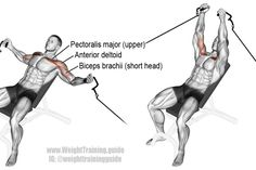 Incline cable fly exercise