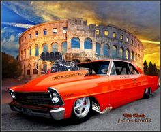 This is must see web content. Discover more about concept cars. Check the webpage to get more information. Custom Muscle Cars, Chevy Muscle Cars, Custom Cars, Ford Mustang, Old School Muscle Cars, Chevy Nova, Nova Car, Chevy Impala, Street Racing Cars