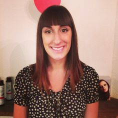 Blunt Bang Hair by Kaley @thebeautyparlour