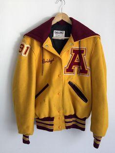 Vintage Women's DeLong Varsity Cheerleader Jacket Sz 36 Small   eBay