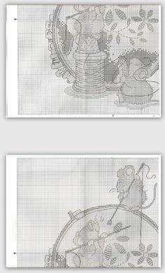 Gallery.ru / Фото #5 - 40 - Mila65 Mini Cross Stitch, Cross Stitch Needles, Cross Stitch Animals, Filet Crochet, Cross Stitch Designs, Cross Stitch Patterns, Love Sewing, Cross Stitching, Needlework