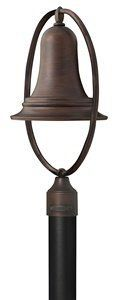 Liberty 26W One Light Outdoor Post Lantern Finish: Victorian Bronze by Hinkley Lighting. $195.07. 2171VZ-ES Finish: Victorian Bronze Libertys minimal, pure design gives it vintage New England style. The solid brass construction of this chic post fitter in a rich Sienna finish comes standard Dark Sky (DS) compliant with additional Energy Saving (ES) configurationfor increased value and Features: -Outdoor post lantern. -Available in sienna or victorian bronze finish. -Soli...