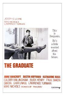 """The Graduate"" (1967), directed by Mike Nichols.  Recent college graduate Benjamin Braddock is trapped into an affair with Mrs. Robinson, who happens to be the wife of his father's business partner and then finds himself falling in love with her daughter, Elaine."