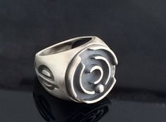 Labyrinth ring-Cool Mens Ring-Statement ring-Cool by galbarash