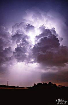 "Spring Tunderstorm ~ ""Dynamic"" by Robin Richard"