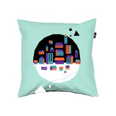 "Pillow cover ""The Urban""  by mw82"
