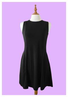 Go Lightly Basic Black Dress ($16.47 USD): Our version of the little black dress || WE SHIP WORDWIDE #littleblackdress #blackdress #worldwideshipping #cuteclothes #retro #60s #50s #vintage #dress #forsale #fashion #womenswear