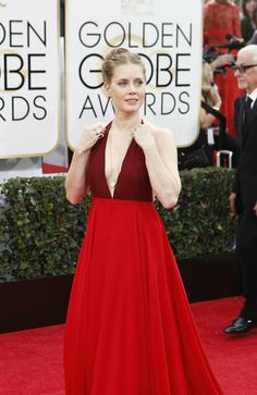 Amy Adams at the 2014 Golden Globes.