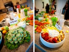 food for jungle baby shower ideas