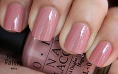Natural Cute Light Pink Nails Design For Lady In Fall And Winter ~ modifikationc. Light Pink Nail Designs, Light Pink Nails, Colorful Nail Designs, Cute Nails, Pretty Nails, Opi Nails, Opi Pink Nail Polish, Manicure And Pedicure, Pedicures