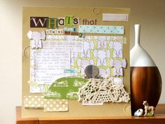 From Julie of Notes On Paper. For the March edition