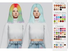 TS4 Hair Retexture 22 - Hallowsims's Raon38• 90 Colors • Retexture • Thumbnail • Standalone The beautiful Mesh is by Hallowsims, please download here! Go here to download my other stuff. #Kalewa or #Kalewa-a So I can see what you do! (Optional of...