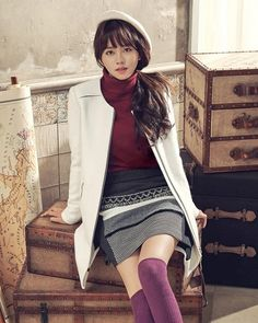 Kim So Hyun Cast in KBS Drama Page Turner and Drops Adorable Winter Pictorial Kim So Hyun Fashion, Kpop Fashion, Fashion 2020, Korean Fashion, Asian Actors, Korean Actresses, Korean Actors, Kim Sohyun, Kbs Drama