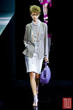Giorgio Armani Spring 2014 Collection | Tom & Lorenzo
