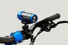 La caméra ion : se clip à vos vêtements, casque, vélo ...