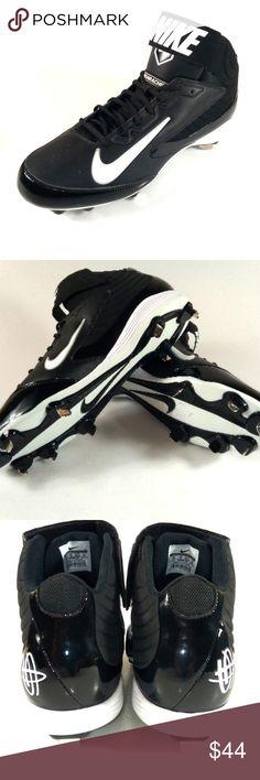 new product bde06 bd2f8 Nike Air Huaraches Pro Black Sz 14 baseball cleats Nike Air Pro mid metal baseball  cleats