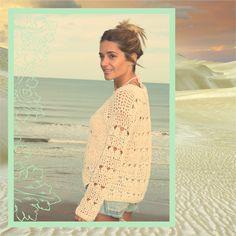 @mariadelapazd #tejidos #summercrochet #bohostyle #bohemianbeach #handmade #lovely  SWEATER AURORA CROCHET
