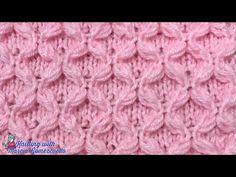 Knitting Videos, Crochet Videos, Knitting For Beginners, Knitting Projects, Lace Knitting, Knitting Stitches, Knitting Patterns, Stitch Patterns, Crochet Hats