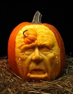 Food Network Pumpkin Carving Google Search Old Man Crying With A Mini Stuck In