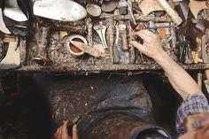Blog | Karen Barbé | Textileria: The workshop of a shoe repairer