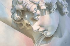 """""""Eros"""" by Anne Hudec --  I am in awe of the subtlety of color temperature changes to bring out the features."""