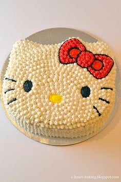Hello Kitty cakes. Might come in handy for a certain little girl's birthday one year.