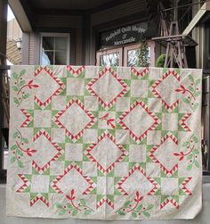 Our Joy Batik Quilt. Kits available at www.hollyhillquiltshoppe.com