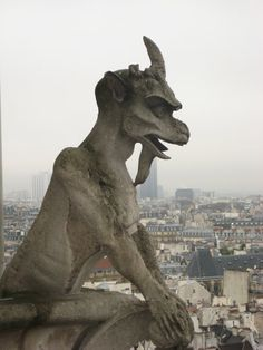 I have a thing about gargoyles.  Have a number around the house to ward off evil spirits - just in case.
