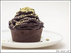 Chocolade courgette muffin