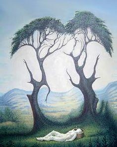 Illusion art by Octavio Ocampo Optical Illusion Paintings, Optical Illusions Pictures, Illusion Pictures, Art Optical, Image Illusion, Illusion Art, Illusion Kunst, One Photo, Street Art