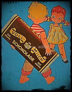 Vintage Food Posters, Vintage Advertising Posters, Old Advertisements, Advertising Signs, Pub Vintage, Vintage Candy, Retro Vintage, Vintage Images, Vintage Travel