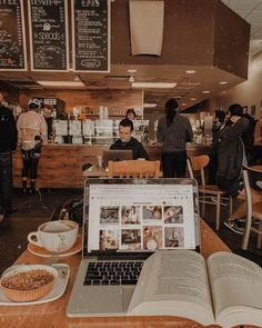 Sydney on [coffee shop aesthetic] // bittersweet aroma of coffee beans and cinnamon heavy in the air, whipped cream mustaches, cold hands hugging Studyblr, Pic Tumblr, Ddr Museum Berlin, Coffee Shop Aesthetic, Aesthetic Shop, College Motivation, Study Motivation Quotes, College Aesthetic, College Organization