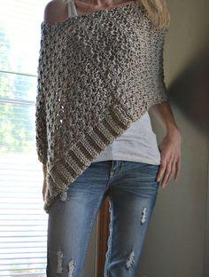 Ravelry: Delia Precious Poncho pattern by CassJames Designs