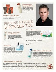 Men love pampering too!  Arbonne offers a complete toxin and chemical-free line just for them!  Whittney email - vp2b2014@yahoo.com Consultant ID 13446410 www.inspiration.myarbonne.com