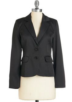 4c85447711ce8 Feelin  In Charge Blazer in Black. Be the best boss you can be in