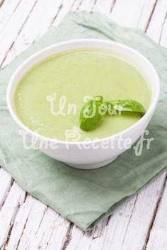 Photo de la recette Soupe de petits pois