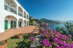 Luxury real estate in Vietri sul Mare Italy - Unique seafront villa on the Amalfi Coast - JamesEdition