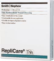"BX/5 - Replicare Thin Hydrocolloid Dressing 6"" x 8"""
