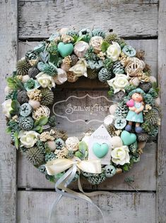Floral Wreath, Spring, Flowers, Home Decor, Wreaths, Flower Crowns, Room Decor, Royal Icing Flowers, Home Interior Design