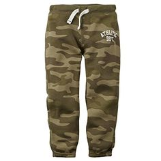 Carters Baby Boys Knit Fleece Pants Baby  Green Camo  6M -- Click image to review more details.Note:It is affiliate link to Amazon.