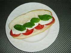 Meatless Mediterranean: Tomato, Basil, and Mozzarella Sandwiches