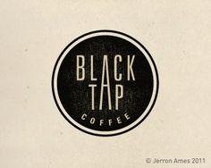 Black Tap Coffee Logo Design