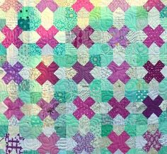 (7) Name: 'Quilting : Tic Tac Toe quilt pattern