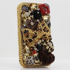 3D Swarovski Leopard Crystal Bling Case Cover for iphone 4 / 4s AT Verizon & Sprint... http://downloadspybubblefree.com/visit/amazon-Swarovski-Leopard-Crystal-Bling-Verizon.html