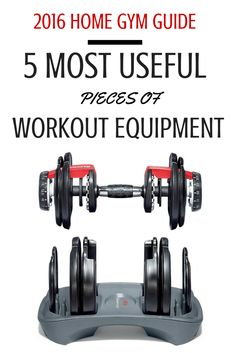 Take a look at the only equipment you need to workout in the comfort of your home.